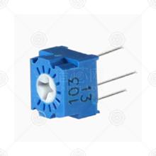 3323P-1-201精密可调电阻品牌厂家_精密可调电阻批发交易_价格_规格_精密可调电阻型号参数手册-猎芯网