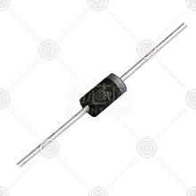 1N5822 肖特基二极管 盒 DO-201AD 40V 1.0A 0.525V