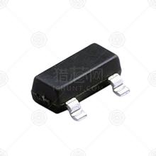 BAT54CQ-7-F 肖特基二极管 编带 SOT-23 40V 0.2A 0.8V