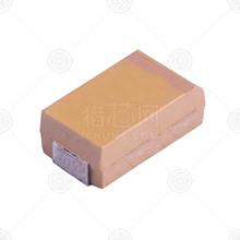 KEMET(基美) T520D227M010ATE018 钽电容 220μF(227) CASE-D_7343 ±20% 10V