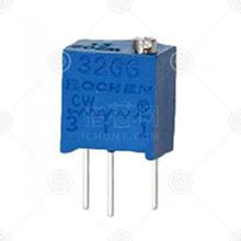 3266W-1-102精密可调电阻品牌厂家_精密可调电阻批发交易_价格_规格_精密可调电阻型号参数手册-猎芯网
