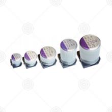 6SVPC220MV 固态电解电容 220μF 圆盘 6.3*6 ±20% 6.3V