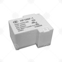 HF105F-1/012D-1HS继电器厂家品牌_继电器批发交易_价格_规格_继电器型号参数手册-猎芯网