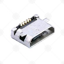 U-F-M5SS-W-5micro usb连接器厂家品牌_micro usb连接器批发交易_价格_规格_micro usb连接器型号参数手册-猎芯网