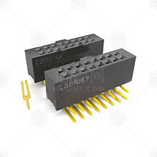 DS1023-2*10SF11排母品牌厂家_排母批发交易_价格_规格_排母型号参数手册-猎芯网
