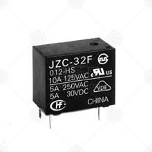 JZC-32F/005-HS3(555)继电器品牌厂家_继电器批发交易_价格_规格_继电器型号参数手册-猎芯网