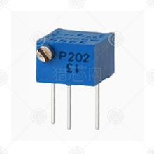 3266P-1-203精密可调电阻品牌厂家_精密可调电阻批发交易_价格_规格_精密可调电阻型号参数手册-猎芯网