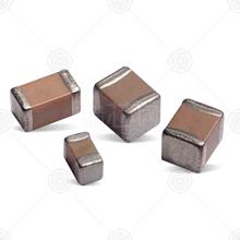 08053C105KAT2A 贴片电容 1μF(105) 0805 ±10% 25V X7R