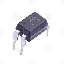 EL817C-F直插光耦厂家品牌_直插光耦批发交易_价格_规格_直插光耦型号参数手册-猎芯网