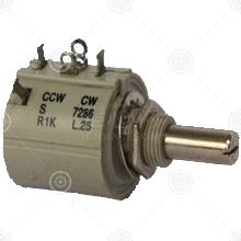 7286-10K电位器、其他可调电阻品牌厂家_电位器、其他可调电阻批发交易_价格_规格_电位器、其他可调电阻型号参数手册-猎芯网