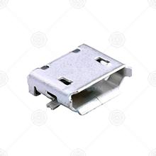 U-F-M5SS-Y-2micro usb连接器厂家品牌_micro usb连接器批发交易_价格_规格_micro usb连接器型号参数手册-猎芯网