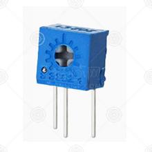 3362W-1-502LF精密可调电阻厂家品牌_精密可调电阻批发交易_价格_规格_精密可调电阻型号参数手册-猎芯网