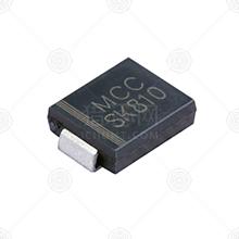 SK810L-TP肖特基二极管品牌厂家_肖特基二极管批发交易_价格_规格_肖特基二极管型号参数手册-猎芯网