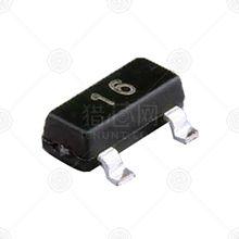 CJ(长电) MMBD4148 开关二极管 SOT-23 4NS 75V 0.15A 1.25V