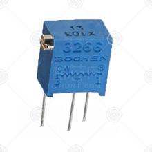 3266X-1-502精密可调电阻品牌厂家_精密可调电阻批发交易_价格_规格_精密可调电阻型号参数手册-猎芯网