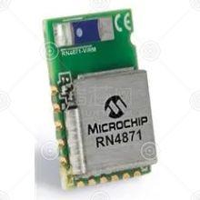 RN4871-V/RM118 无线模块 托盘