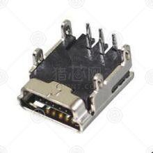 CZ-520MINI USB连接器厂家品牌_MINI USB连接器批发交易_价格_规格_MINI USB连接器型号参数手册-猎芯网