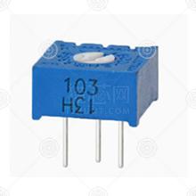 3386P-1-203精密可调电阻厂家品牌_精密可调电阻批发交易_价格_规格_精密可调电阻型号参数手册-猎芯网