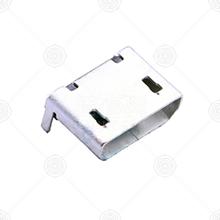 U-F-M5WD-W-1micro usb连接器厂家品牌_micro usb连接器批发交易_价格_规格_micro usb连接器型号参数手册-猎芯网