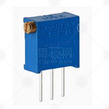 3296X-1-102精密可调电阻厂家品牌_精密可调电阻批发交易_价格_规格_精密可调电阻型号参数手册-猎芯网