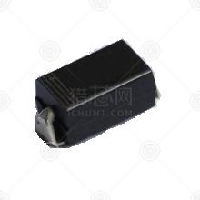 B340A 肖特基二极管 圆盘 SMA(DO-214AC) 40V 3.0A 0.55V