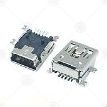 CZ-514MINI USB连接器厂家品牌_MINI USB连接器批发交易_价格_规格_MINI USB连接器型号参数手册-猎芯网