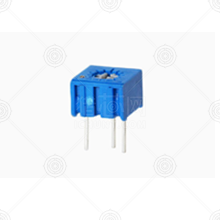 3362P-1-204LF 精密可调电阻 200kΩ 3362P ±10% ±100ppm/℃