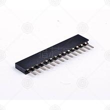 220S-1*5P H=8.5MM Y型 镀金排母厂家品牌_排母批发交易_价格_规格_排母型号参数手册-猎芯网