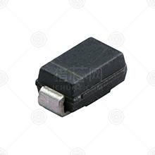 SS34 肖特基二极管 编带 SMA(DO-214AC) 40V 3.0A 0.55V