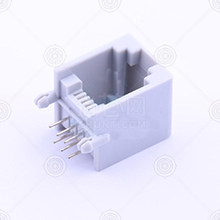 PCB-6P6C-90度-无边-灰RJ22连接器品牌厂家_RJ22连接器批发交易_价格_规格_RJ22连接器型号参数手册-猎芯网