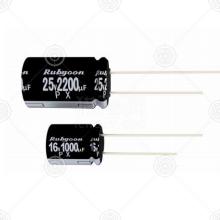 35PX1000MEFC10X20 直插电解电容 1000μF DIP 10×20 20% 35V
