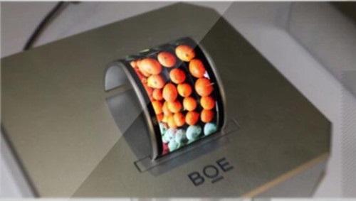 京东方柔性 OLED 面板上半年出货 1600 万片,接近去年全年